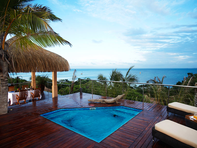 Anantara Bazaruto Island Resort Pool Deck