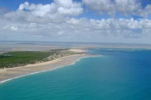 Barra Beach Aerial View