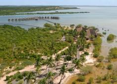 Flamingo Bay View Over Estuary