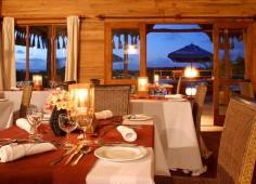 Flamingo Bay Water Lodge Dining