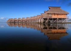 Flamingo Bay Water Lodge Water Chalets