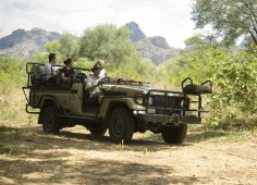 Lugenda Wilderness Camp Game Drive