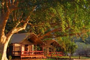 Lugenda Wilderness Camp Tent Exterior