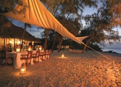 Vamizi Island Beach Dinner