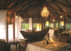 Vamizi Island Dning Room