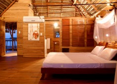 Flamingo Bay Water Lodge Bedroom Interior