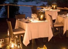 lion sands ivory lodge deck dining