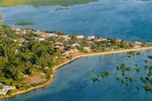 Aerial Ibo Island