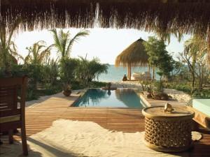 Azura Benguerra Island Lodge Plunge Pool