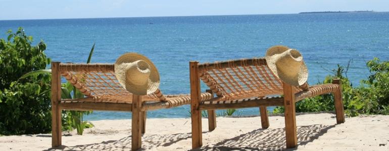 Guludo Beach Lodge Verandah