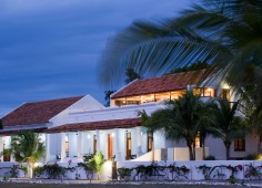 Ibo Island Lodge At Night