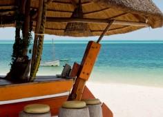 Benguerra Island Lodge Beach Bar