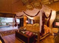 Benguerra Island Lodge Bedroom Interior