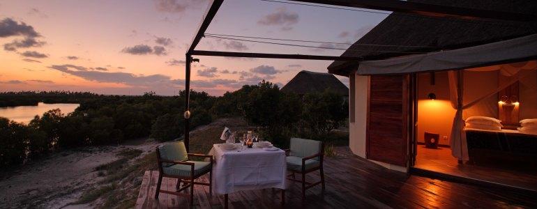 Coral Lodge Villa Dining