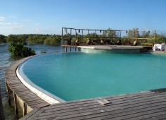 Flamingo Bay Water Lodge Pool View