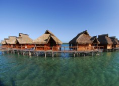 Flamingo Bay Water Lodge View