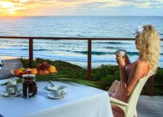Massinga Beach Breakfast View