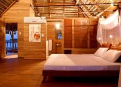 Flamingo Bay Water Lodge Bedroom Interior