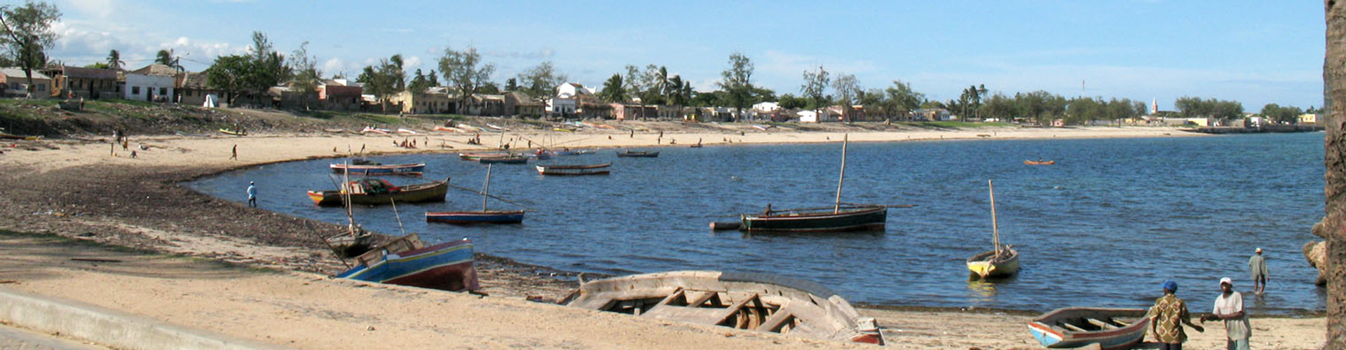 Ilha de Mozambique Aerial View