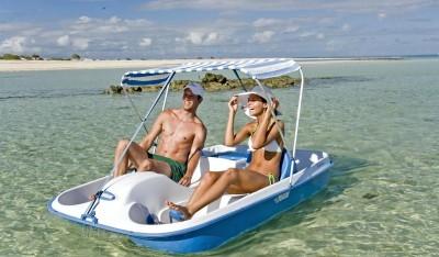 Medjumbe Paddle Boat
