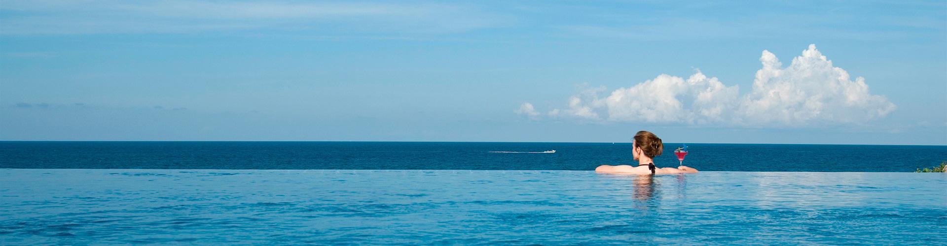 Ocean views over Pemba Bay