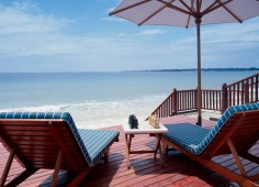Pemba Beach Hotel Pool Deck