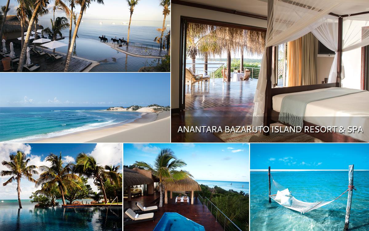 Anantara Bazaruto Island Resort Mozambique Tour Operator