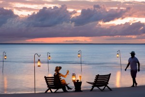 Benguerra Lodge Drinks on the beach