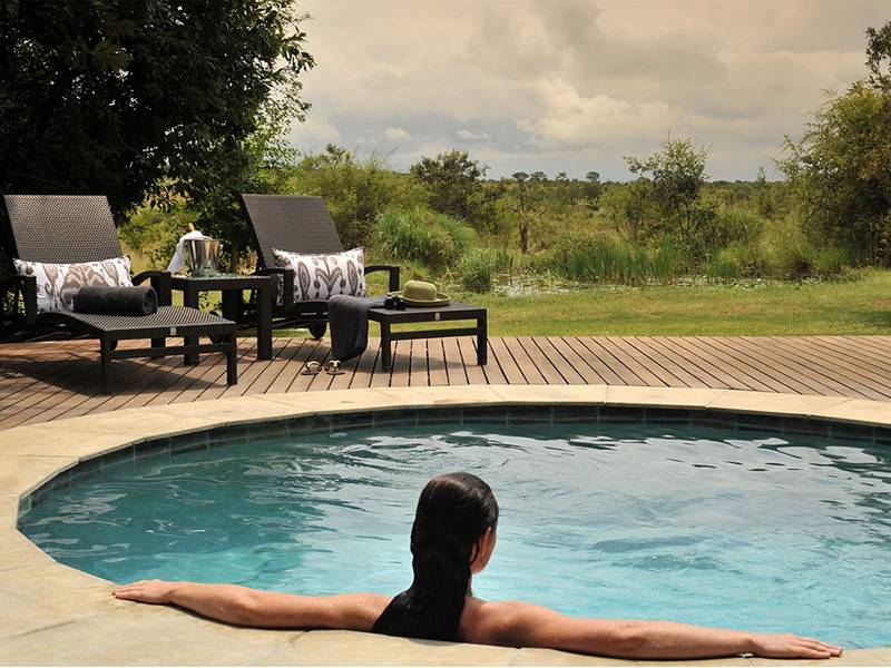 Savanna Game Lodge Pool