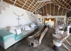 Azulik Lodge lounge area
