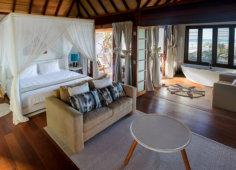 Sentidos Beach Retreat Double Beach Villa Living area