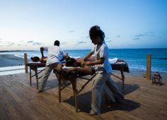 Sentidos Beach massage