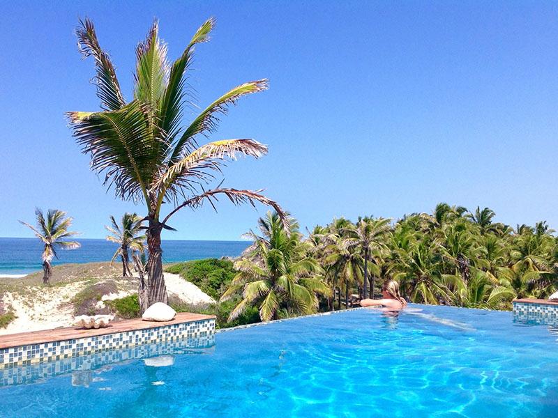 Travessia Beach Lodge Mozambique Pool