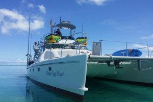 Maxim 400 Fly Bridge Power Catamaran